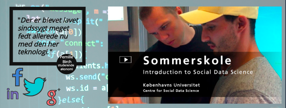 Sommerskole: Introduction to Social Data Science